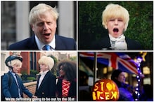 British Children are Dressing up as 'Scary' PM Boris Johnson for Halloween