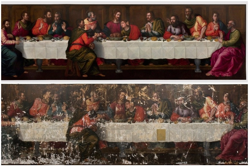 Only Known 'Last Supper' Painting by a Woman Artist Finally Restored After Centuries of Neglect