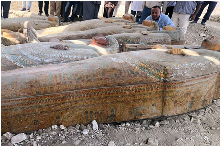 'Like Ancient Egyptians Left Them': Archaeologists Discover 20 Sealed Human Coffins in Luxor