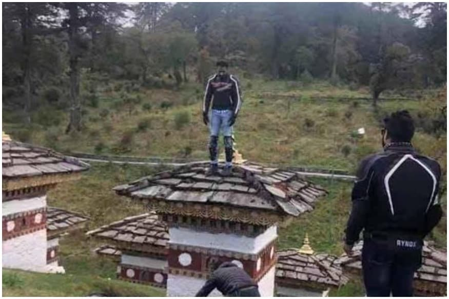 Indian Tourist from Maharashtra Detained in Bhutan for 'Desecrating' Holy Buddhist Chorten