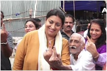 Be Like Khanna Ji: Smriti Irani Praises 93-Year-Old Voter, Asks if He Can, Why Can't You?
