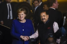 German Embassy on Standby with Face Masks as Chancellor Angela Merkel Lands in Smoggy Delhi