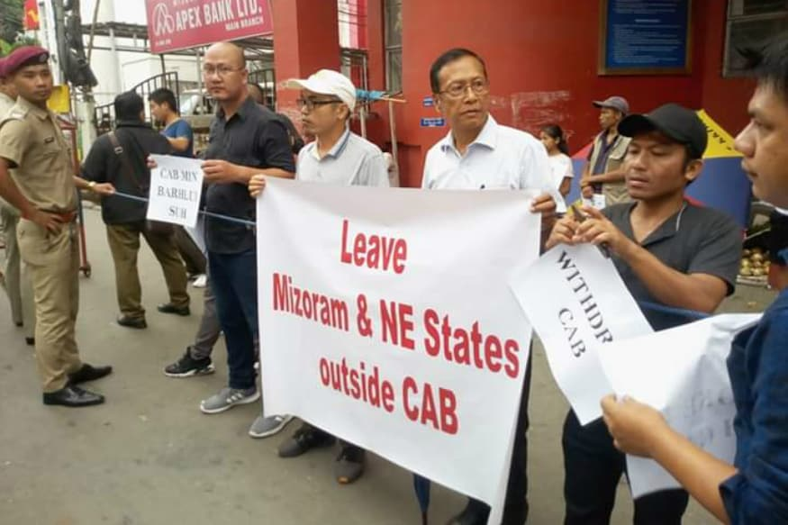 New BJP Chief Asks People of Mizoram to Thank God As State is Exempted from CAA