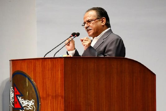 File image of the Chairman of the Unified Communist Party of Nepal (Maoist) Pushpa Kamal Dahal, also known as Prachanda. (Reuters)