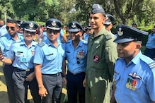 Group Captain Sachin Tendulkar Attends 87th IAF Day Parade, Thanks Soldiers for their Services
