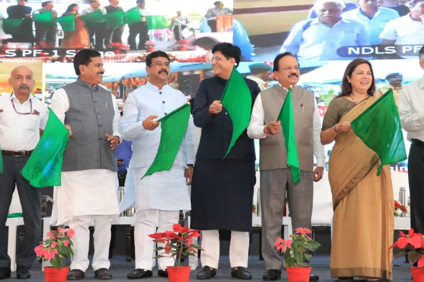 Railway Minister Piyush Goyal Flags off 9 'Sewa Service' Trains Connecting Small Towns to Major Cities