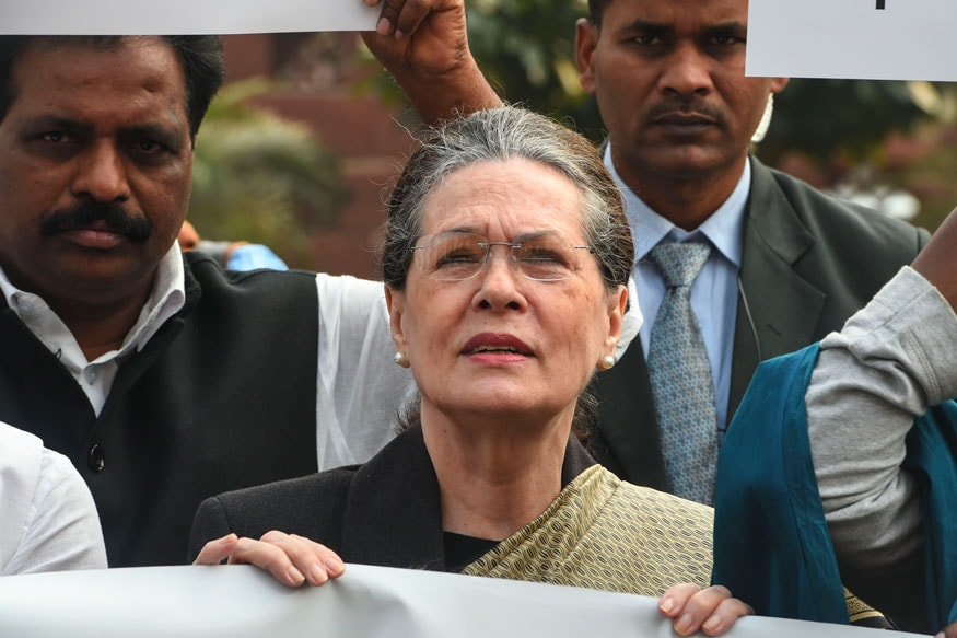 Time to Rise and Save the Country and Its Democracy, Says Sonia Gandhi at Congress Rally