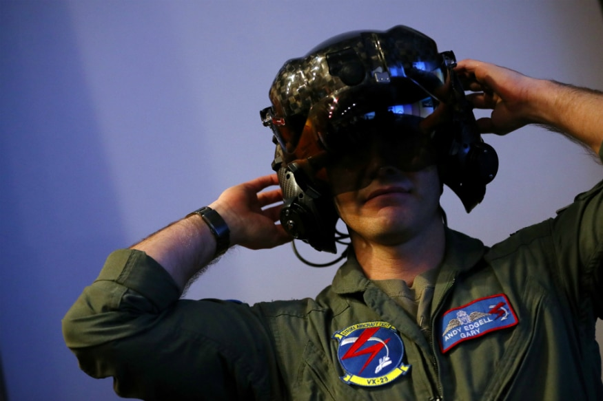 F-35 Helmet. (Image source: Reuters)