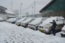 Connectivity Hit As Srinagar-Jammu Highway Closed After Kashmir Receives Under Heavy Snowfall