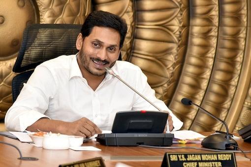 File photo of Andhra Pradesh Chief Minister Jagan Mohan Reddy.
