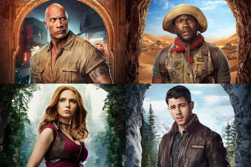 New Posters of Jumanji The Next Level Starring Dwayne Johnson, Nick Jonas Give a Closer Look of the Characters