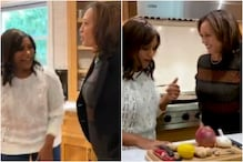 Kamala Harris Joins Mindy Kaling to Cook Masala Dosa, Watch Video