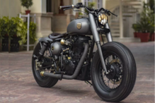 Royal Enfield Classic 500 Modified By Rajputana Customs Called 'Ranisa' Looks Every Bit Royal