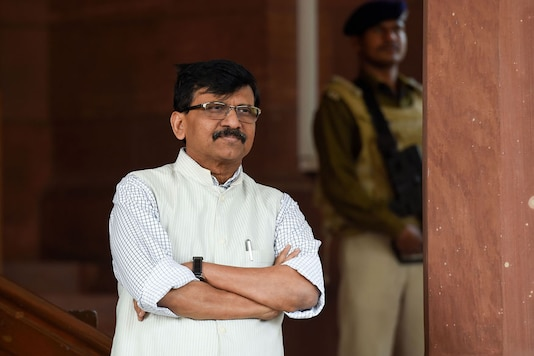 File photo of Shiv Sena MP Sanjay Raut. (Image: PTI)