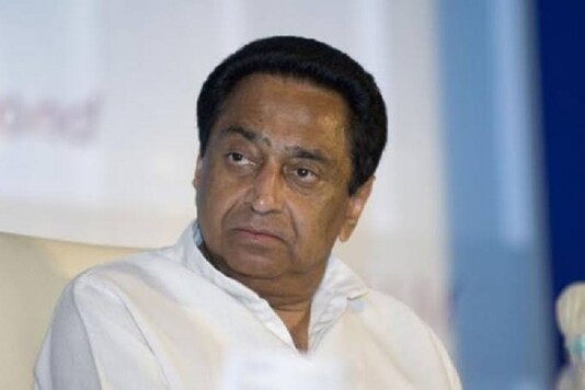 File photo of former Madhya Pradesh chief minister Kamal Nath.