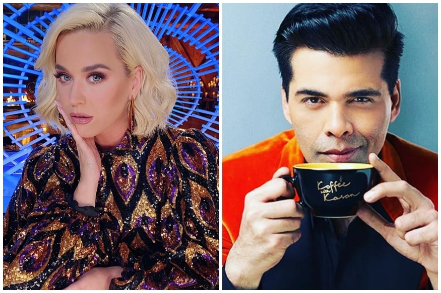Karan Johar to Host Grand Reception for Katy Perry Before her Mumbai Concert