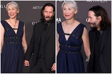 Keanu Reeves Makes Relationship with Alexandra Grant Public