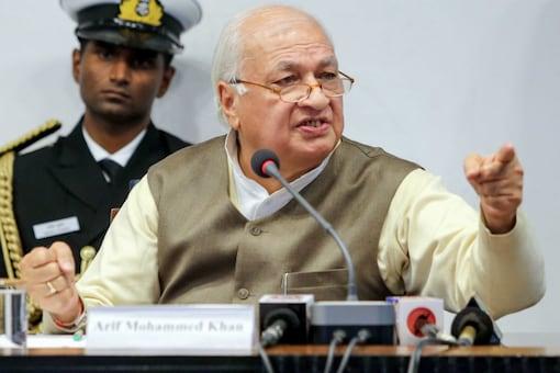 File photo of Kerala Governor Arif Mohammed Khan.