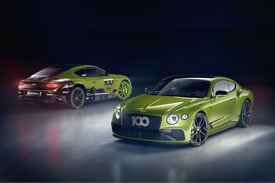 Bentley Launches a Limited Edition Continental GT to Celebrate Pikes Peak Record