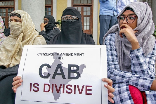 File photo: Protest were seen across the country against Citizenship Bill. (Image : PTI)