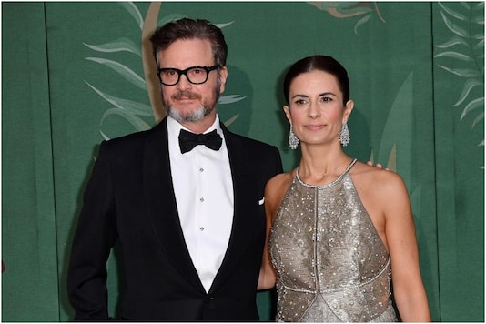 Colin Firth and ex-wife