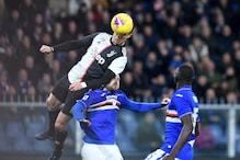 WATCH | Cristiano Ronaldo's Sensational 8ft 5in Leap to Score Header vs Sampdoria
