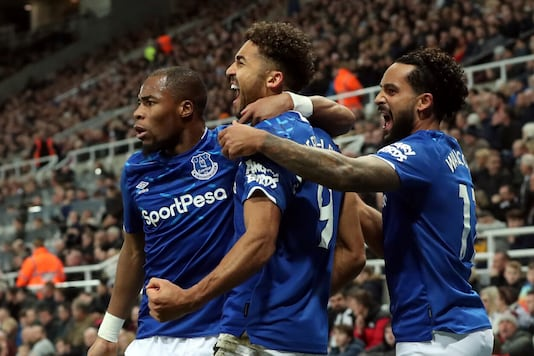 Everton beat Newcastle United. (Photo Credit: Reuters)