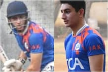 Ibrahim Ali Khan Plays Cricket in the Nets, Fans See Glimpse of Mansoor Pataudi in Him