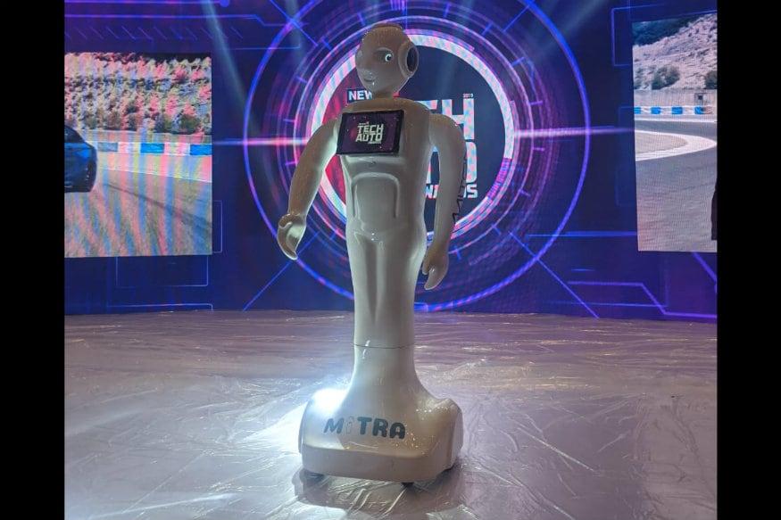 Invento Robotics' Mitra Robot Hosts 3rd Edition of News18 Tech and Auto Awards, 2019