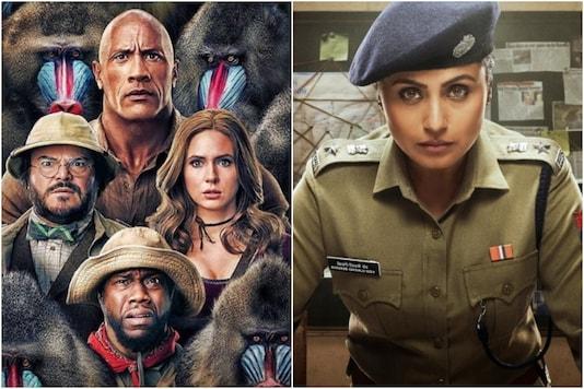 'Jumanji: The Next Level', 'Mardaani 2' (R) posters