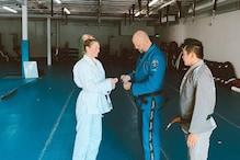 Kate Upton Gets First Stripe on Her Jiu-Jitsu White Belt