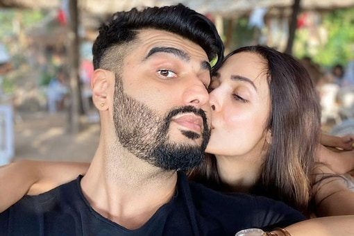 Malaika Arora and Arjun Kapoor