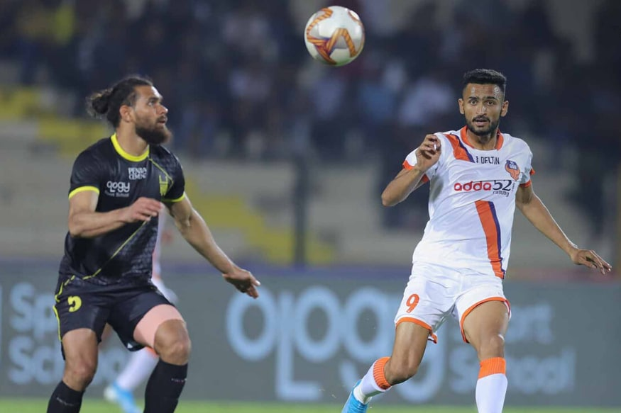 ISL 2019-20: Manvir Singh Header Gives FC Goa 1-0 Win Over Hyderabad FC