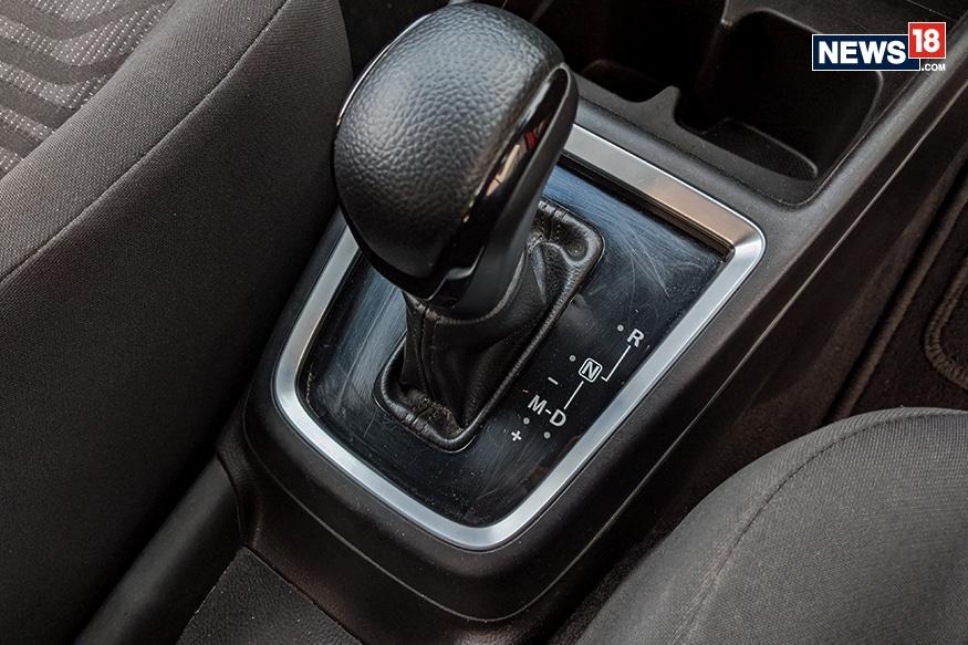 Maruti Suzuki Swift AGS gearbox. (Image: Manav Sinha/ News18.com)