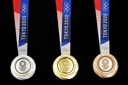 2020 Tokyo Olympics medals (Photo Credit: Reuters)