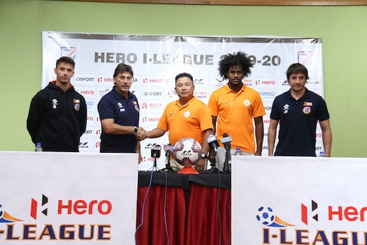 NEROCA FC host East Bengal in the I-League. (Photo Credit: AIFF)