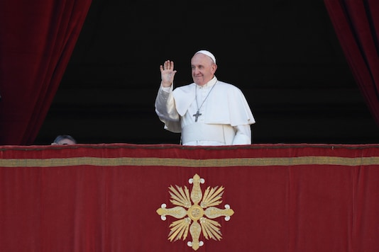 Pope Francis. (Reuters)