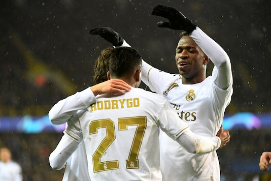 Real Madrid beat Club Brugge in the last group match. (Photo Credit: Reuters)