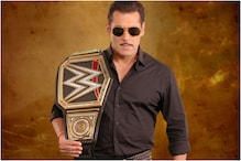 Salman Khan Presented with Custom Made WWE Championship Ahead of Dabangg 3 Release