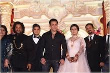 Salman Khan Attends the Wedding of His Makeup Artist's Son, Wins Hearts Online