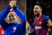 Lionel Messi and Megan Rapinoe Favorites to Win Ballon d'Or 2019 Honours