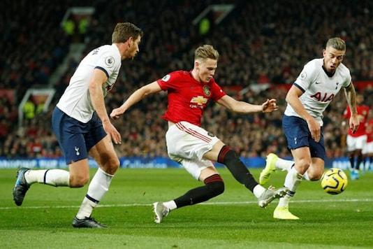 Manchester United's Scott McTominay against Tottenham Hotspur (Photo Credit: Reuters)