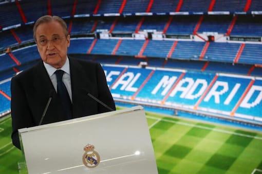 Real Madrid president Florentino Perez (Photo Credit: Reuters)