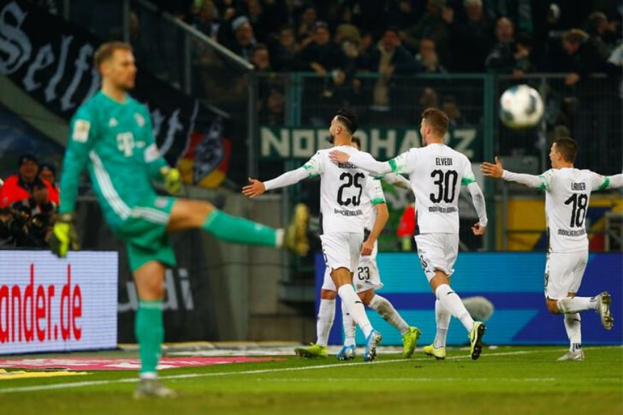 Bundesliga: Bayern Munich Down to 7th After Defeat at Leaders Borussia Moenchengladbach