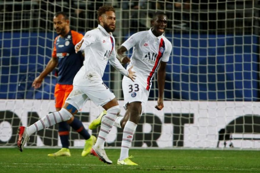 Ligue 1: Neymar Inspires PSG to Comeback Win at Montpellier, Restore 8-point Lead
