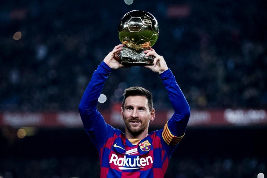 La Liga: Lionel Messi Nets Hat-trick to Break Yet Another Cristiano Ronaldo Record and Celebrate 6th Ballon d'Or