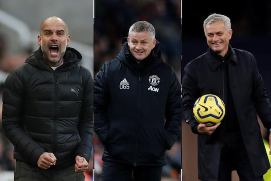 Pep Guardiola, Ole Gunnar Solskjaer and Jose Mourinho (Photo Credit: Reuters)