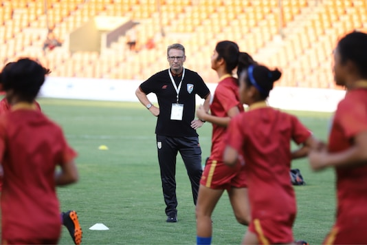 Thomas Dennerby, head coach of the Indian U-17 women's football team (Photo Credit: AIFF)