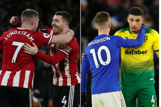Sheffield United and Leicester City (Photo Credit: Reuters)