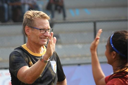 India U-17 Women's Football Team Coach Thomas Dennerby (Photo Credit: AIFF)